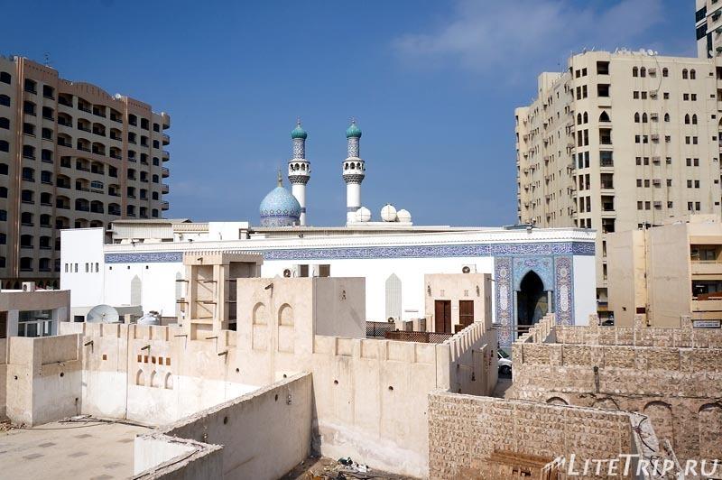 ОАЭ. Шарджа - развалины старого города.