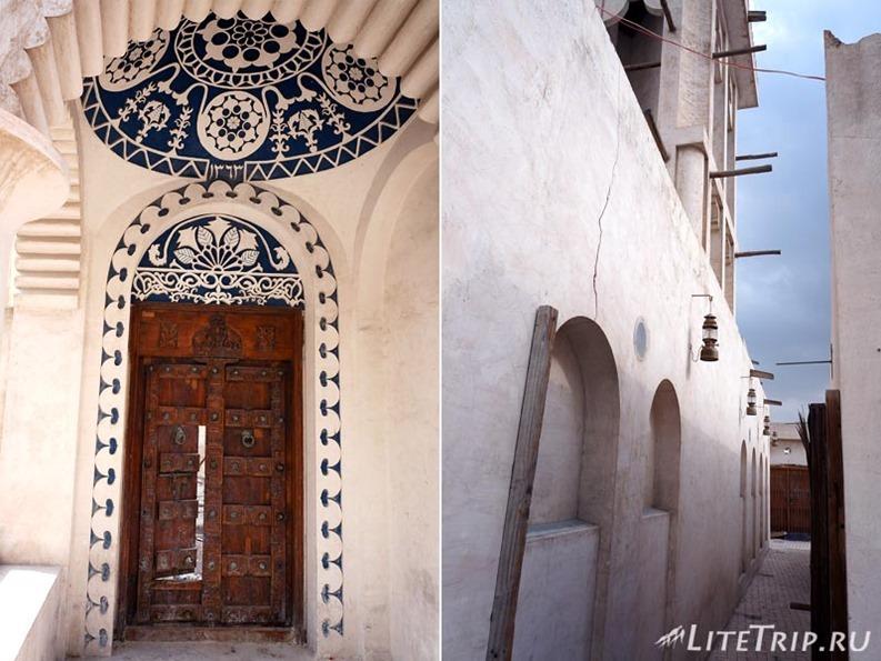 ОАЭ. Шарджа - узкие улочки старого города.