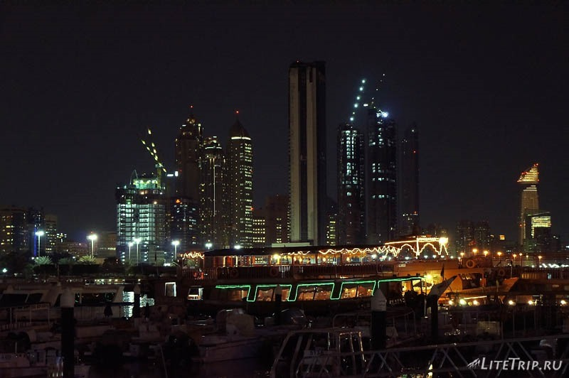 ОАЭ. Абу Даби - рыбацкие судна.