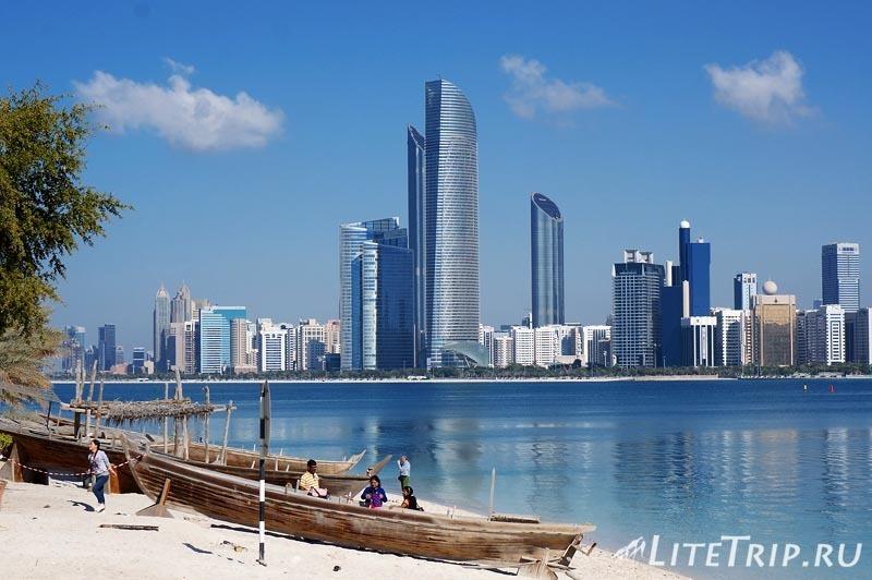 ОАЭ. Абу Даби. Деревня Наследия - берег