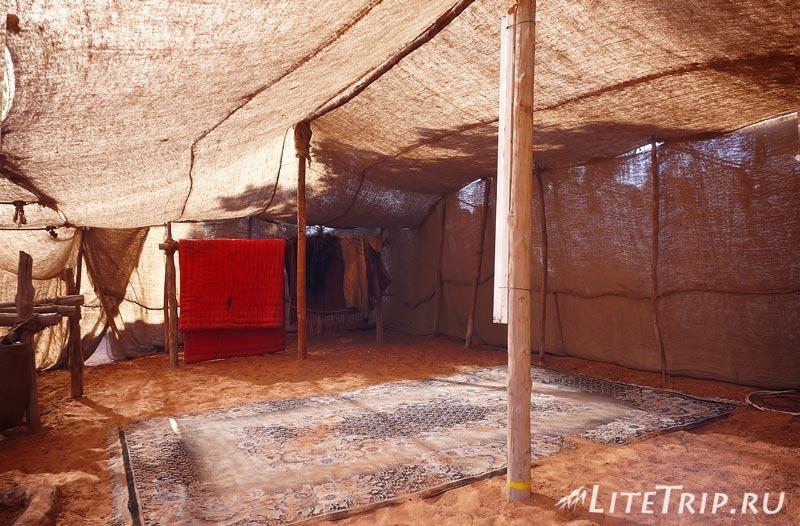 ОАЭ. Абу Даби. Деревня Наследия - шалаши.