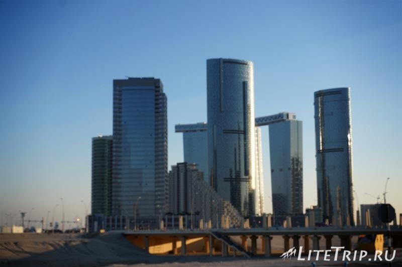 ОАЭ. Абу Даби - новый район.