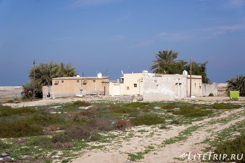 ОАЭ. Жилые трущобы в Ум-Аль-Кувейн.