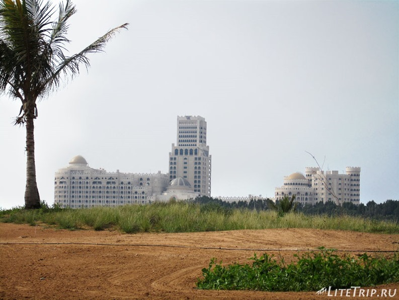 ОАЭ. Рас аль Хайма - район Марина.