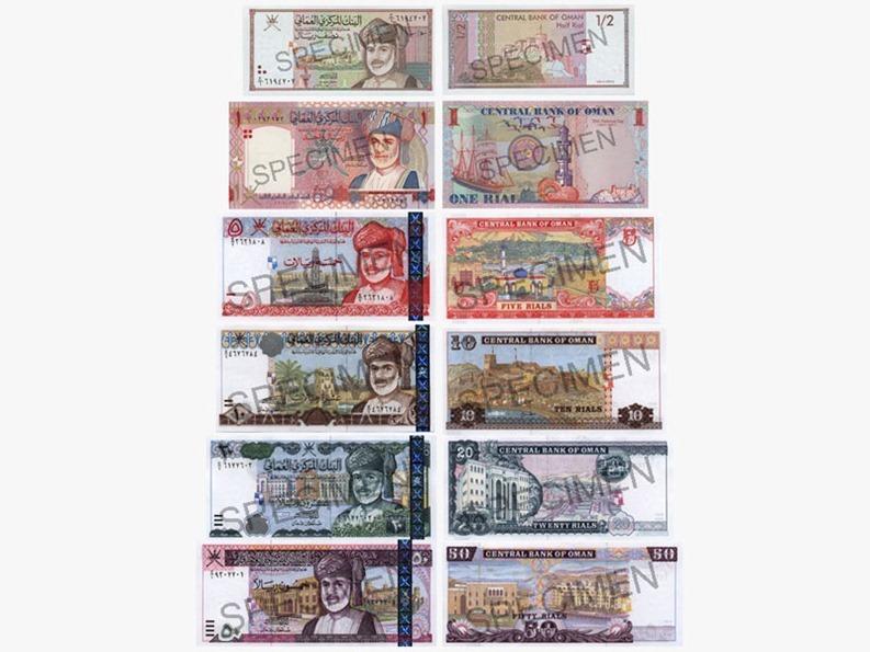 Валюта в Омане.