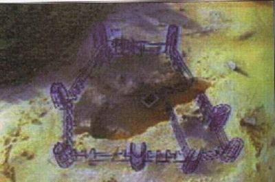 Оман. План древнего города Убар (Ирам).