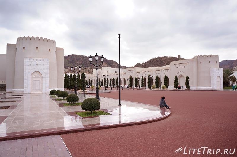Оман. Старый Маскат - дворец султана Аль Алам, Мила.