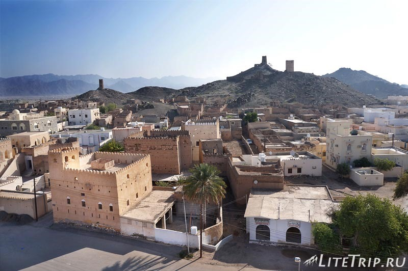 Оман. Мудариб город.
