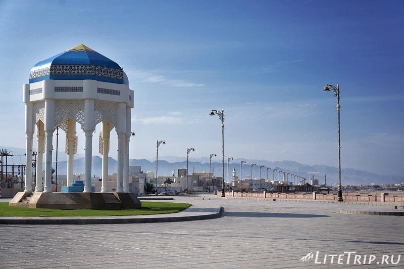 Оман. Город Сур - набережная.