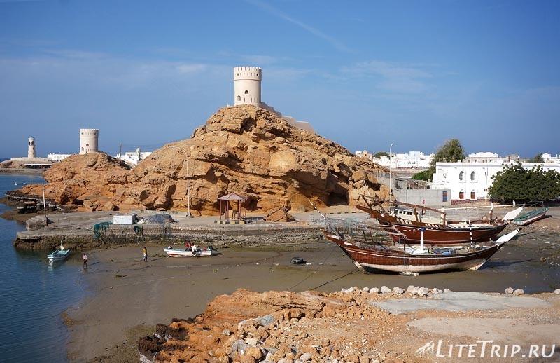 Оман. Город Сур - лодки.