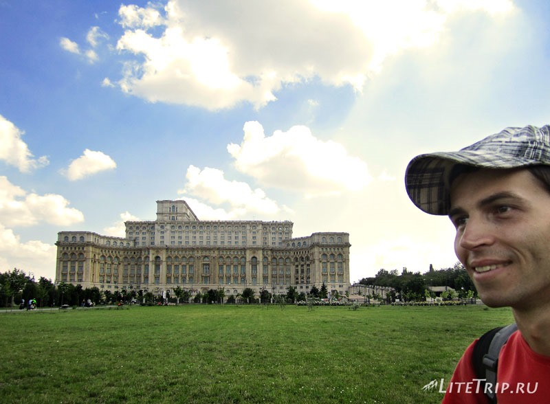 Румыния. Столица Бухарест. Дворец Парламента