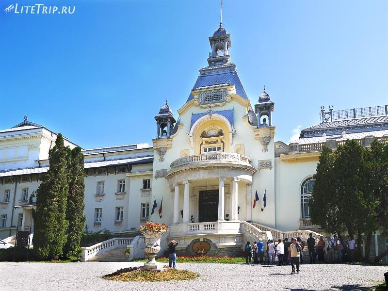 Румыния. Административное здание города Синая
