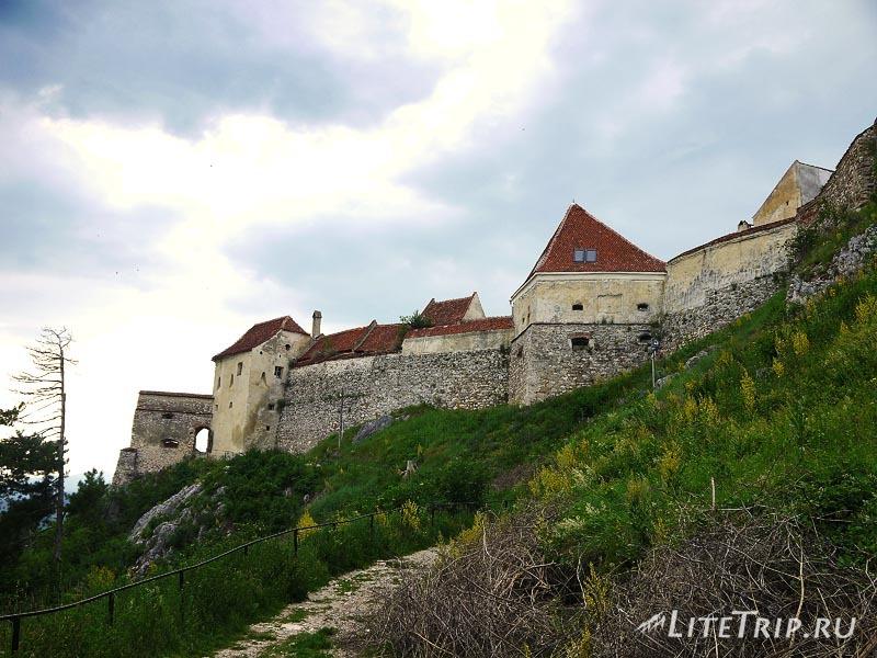 Румыния. Рышновская крепость