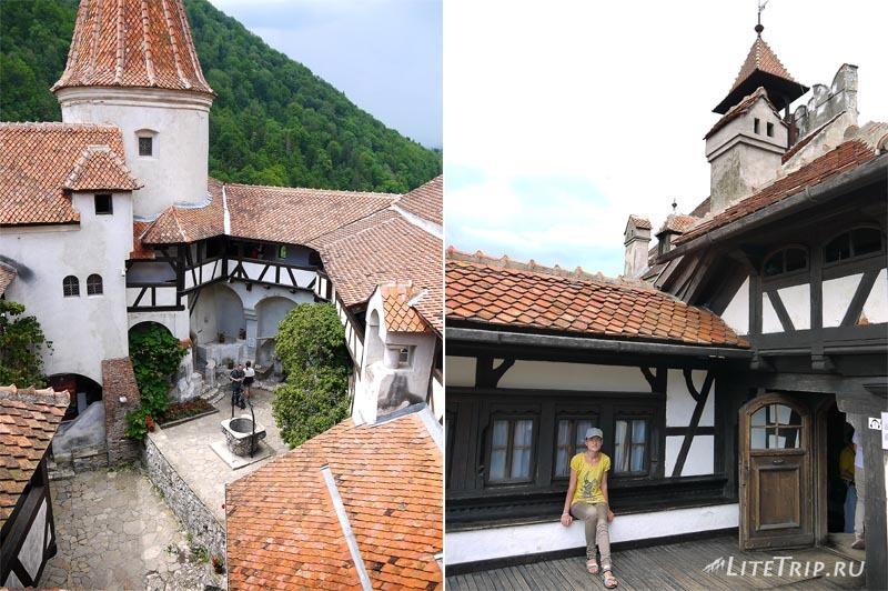 Румыния. Замок Дракулы в Бране.