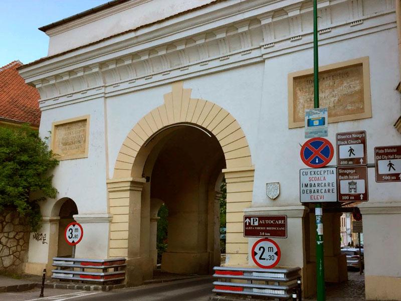 Ворота Скей в Брашове