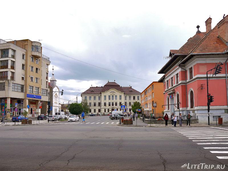 Город Фэгэраш в Румынии