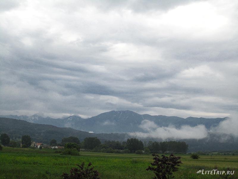 Румыния. Туманное утро.