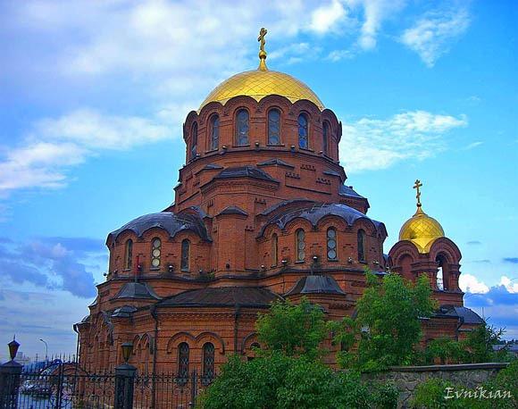 Монастырь в Новосибирске
