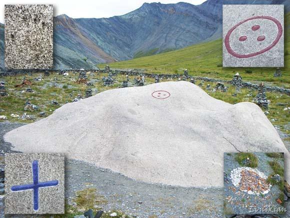 Камень Рериха со знаками