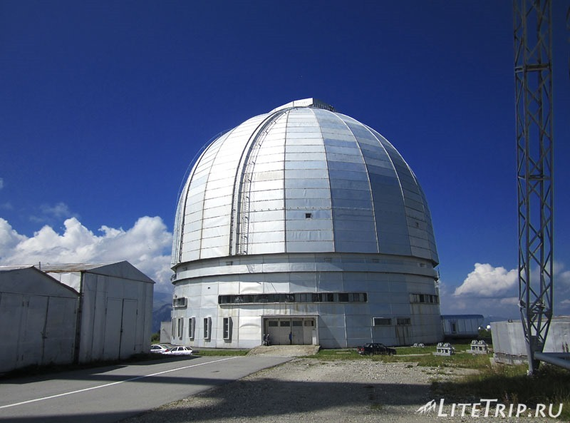 Россия. Карачаево-Черкессия - обсерватория Архыза.