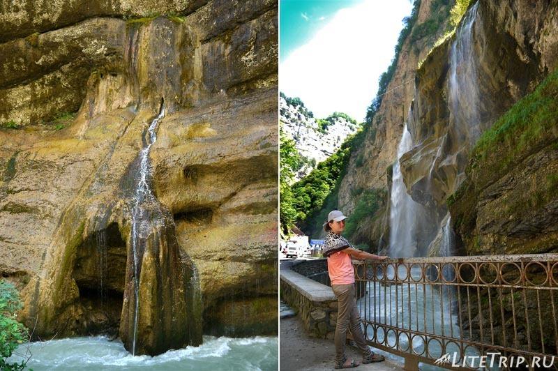 Россия. Кабардино-Балкария. Чегемские водопады - Мила.