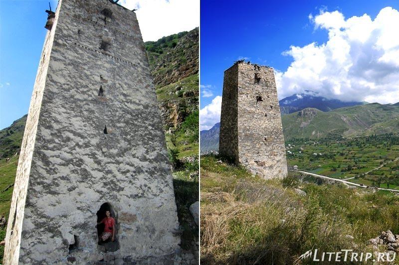 Россия. Верхняя Балкария - башня.