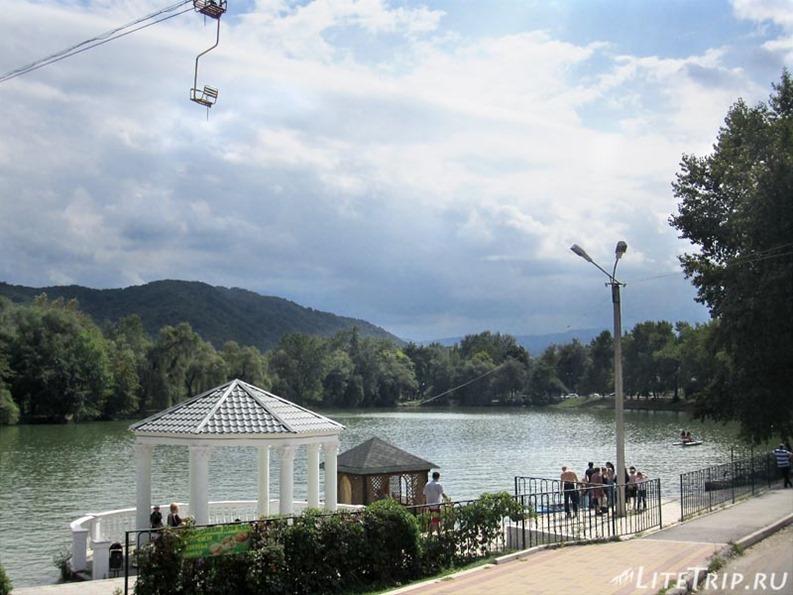 Россия. Кабардино-Балкария. Нальчик - озеро №2.