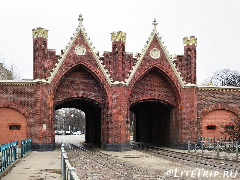 Калининград. Бранденбургские ворота.