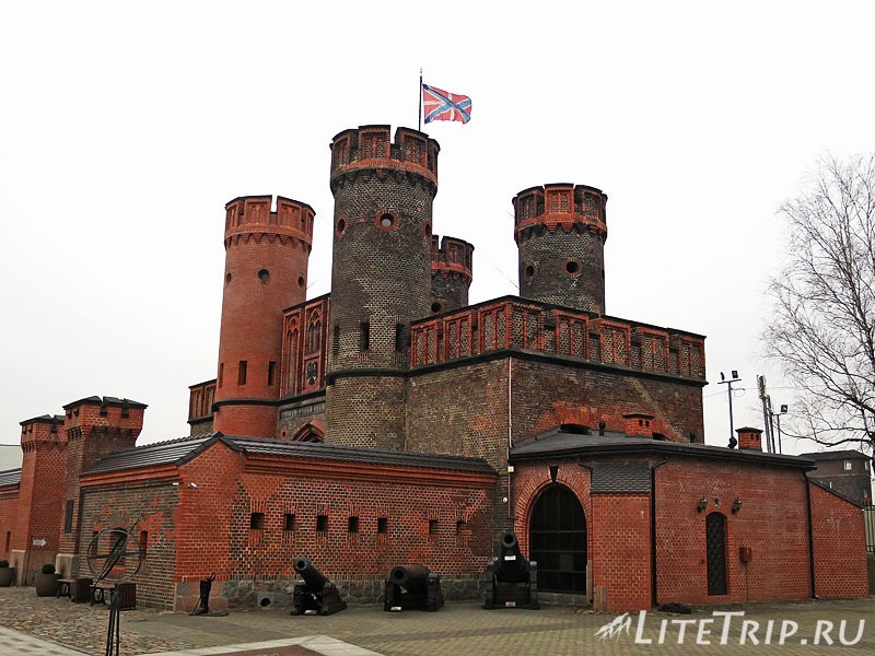 Калининград. Фридрихсбурские ворота.