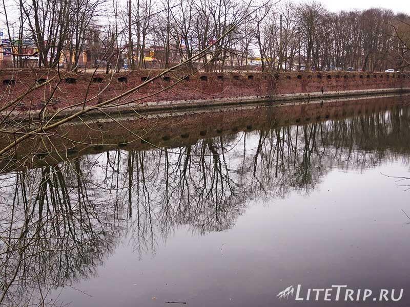 Калининград. Южный парк. Рвы с водой.