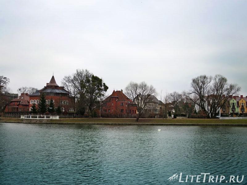 Калининград. Верхний пруд (озеро).