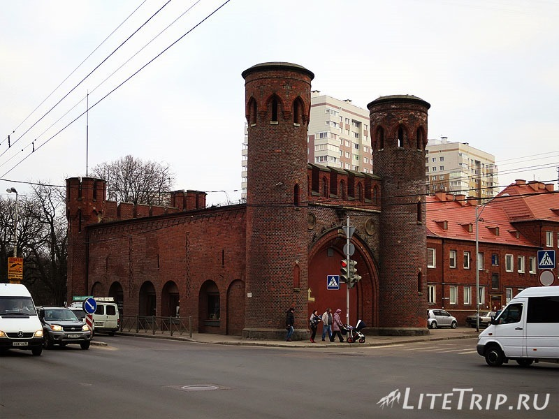 Калининград. Закхаймские ворота.
