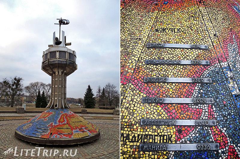 Калининград. Мировые часы.