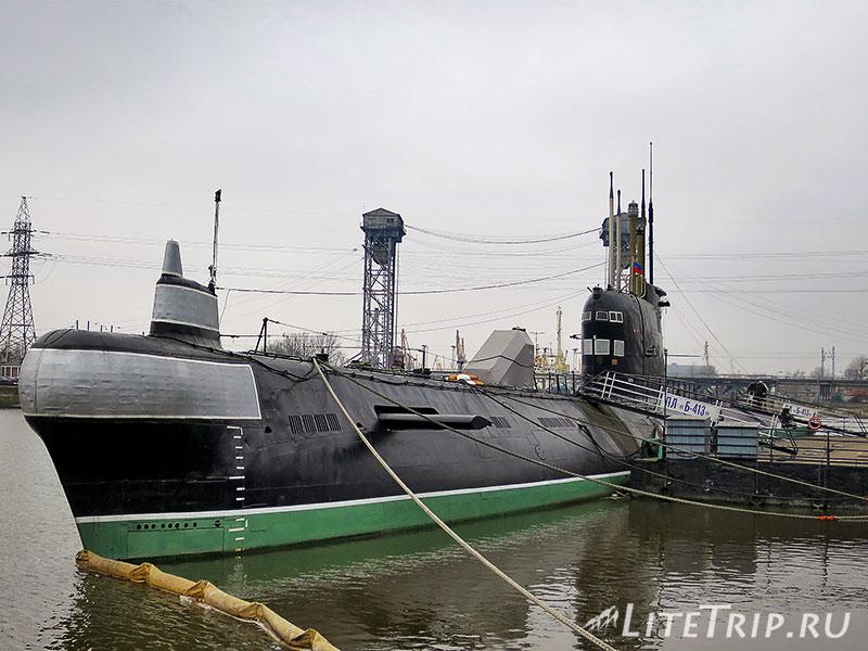 Калининград. Музей Мирового Океана. Подводная лодка Б-413