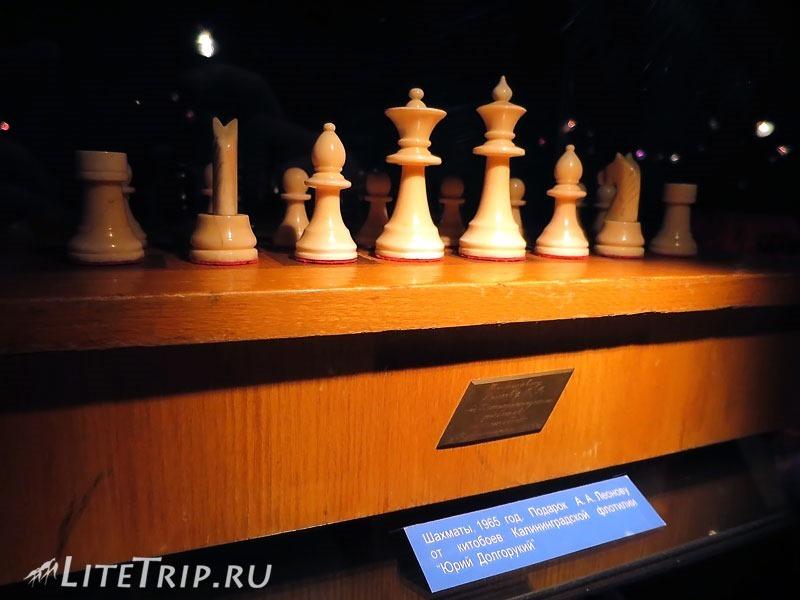 Калининград. Музей Мирового океана. Виктор Пацаев. Шахматы.