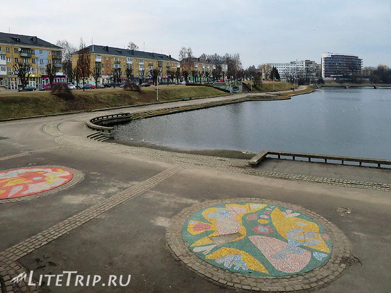 Калининград. Нижний пруд.