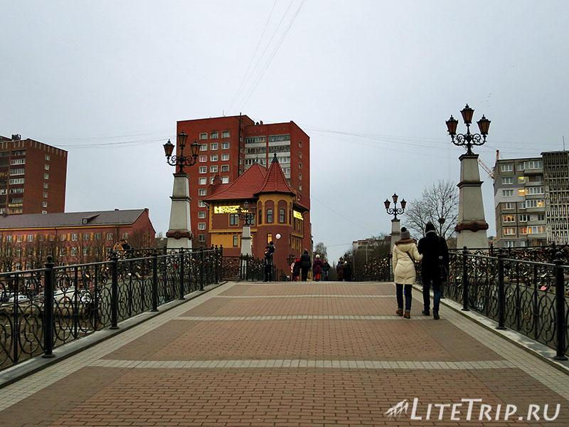 Калининград. Рыбная деревня. Юбилейный мост