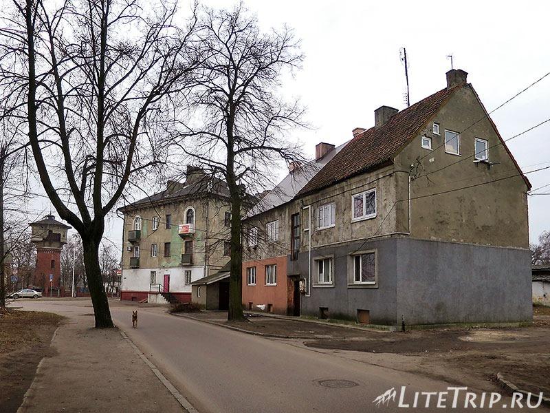 Калининградская область. Балтийск. Дома.
