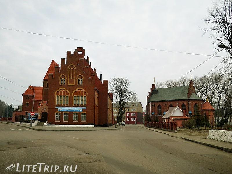 Калининградская область. Балтийск. Старая часть.