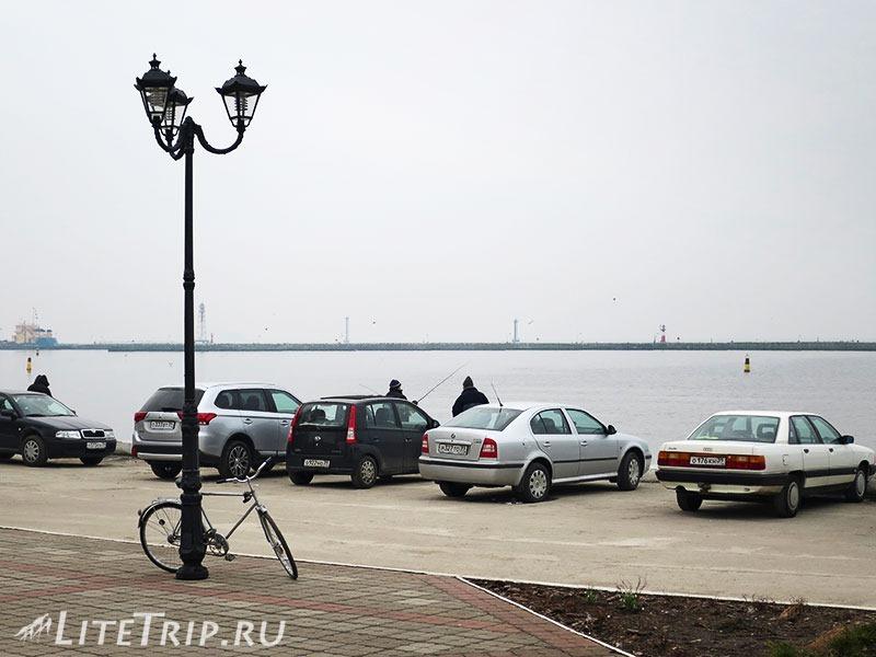 Калининградская область. Балтийск. Набережная.