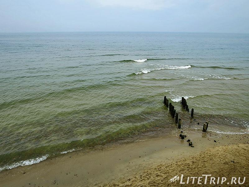 Калининградская область. Светлогорск. Набережная - море.