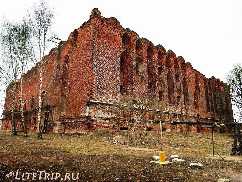 Калининградская область. Неман. Замок Рагнит