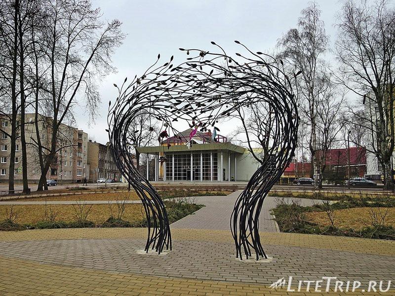 Калининградская область. Советск. Аллея влюбленных