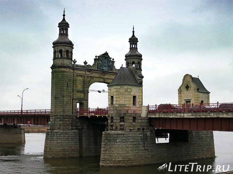 Калининградская область. Советск. Мост Королевы Луизы
