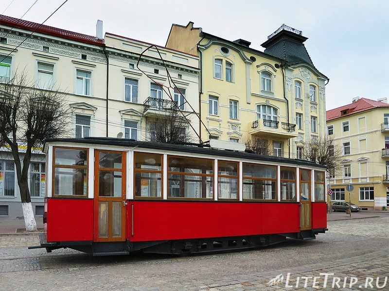 Калининградская область. Советск. Тильзитский трамвай.