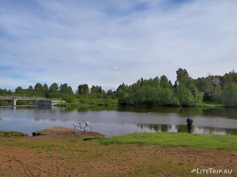 Рыбалка на реке Ивкинка