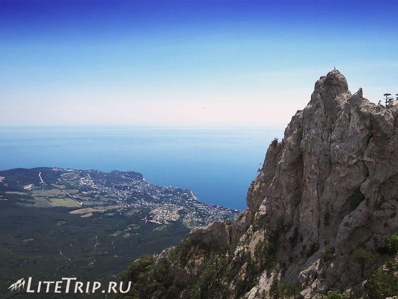 Крым. Ялта. Ай-Петри - гора.