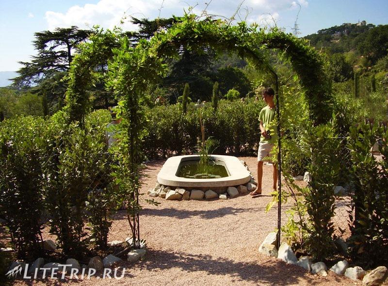 Крым. Никитский ботанический сад. Арки и фонтаны.