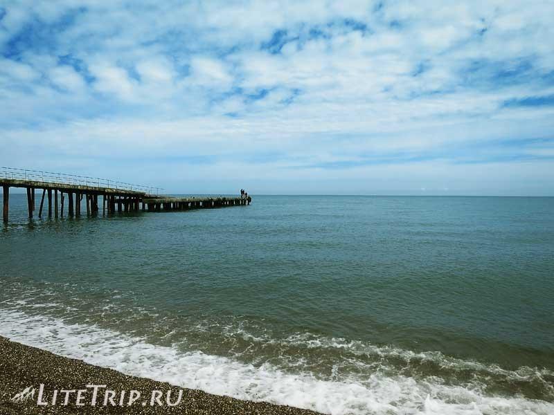 Крым. Алушта. Море и пляжи.