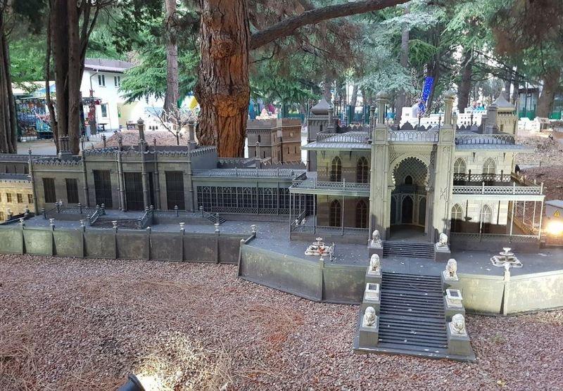 Парк миниатюр Крыма в Алуште